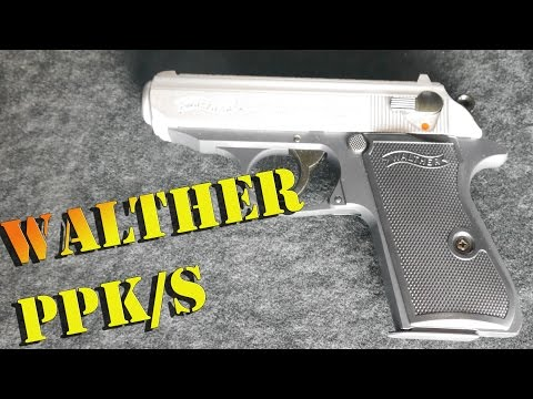 Umarex Walther PPK/S u0,5 Joule Softair Review, HD, deutsch