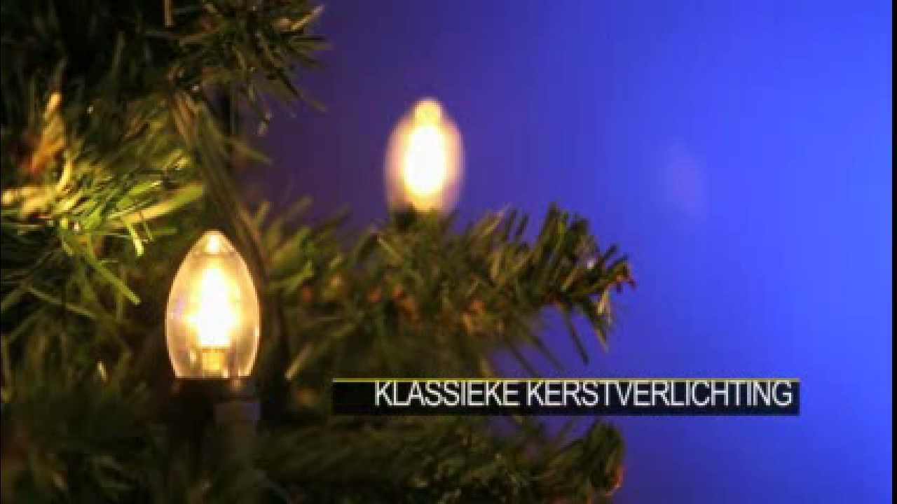 Kerstverlichting Buiten Klassieke Kerstlampjes Met Led Verlichting