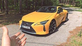 Znajomy odebrał NOWEGO Lexusa LC 500 Yellow Edition!