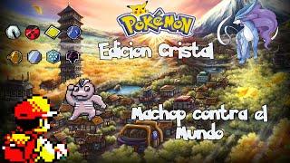 "Pokemon Cristal: Machop VS Mundo #5 ""La Torre quemada"""