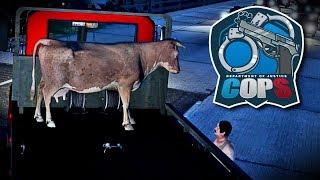 DOJ #35 [CIV] | COW TRANSPORTER | GTA 5 Roleplay