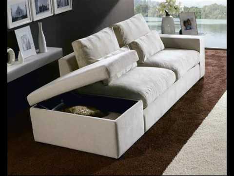 Sofas cama sofas piel sofas tela sofas salvany youtube for Sofa piel esquinero