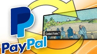 How To Connect And Integrate Contact Form 7 With Paypal For Free