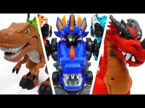 Go Go Dino-Core 2, Revenge of Dinosaur King~!