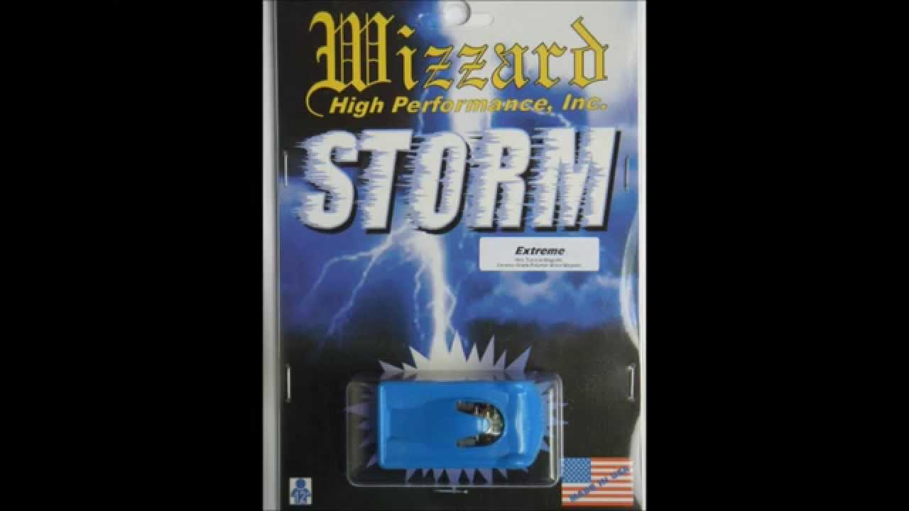 Wizzard Storm Extreme Usa Made Ho Scale Slot Car Youtube