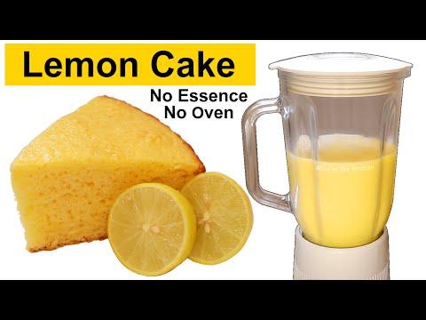 Lemon Pound Cake   Lemon Cake   Easy Lemon Cake   Without Oven, Butter, Essence