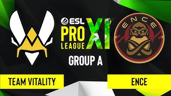 CS:GO - Team Vitality vs. ENCE [Inferno] Map 3 - ESL Pro League Season 11 - Group A