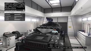 GTA 5 - Comparing Menacer Top .50 Cal Machine Gun vs Minigun