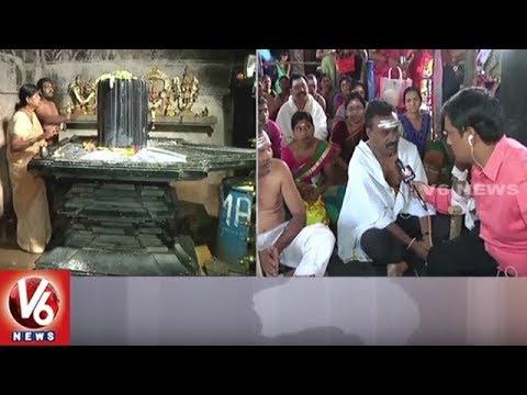 Devotees Throng Thousand Pillar Temple On Karthika Masam Last Monday   V6 News