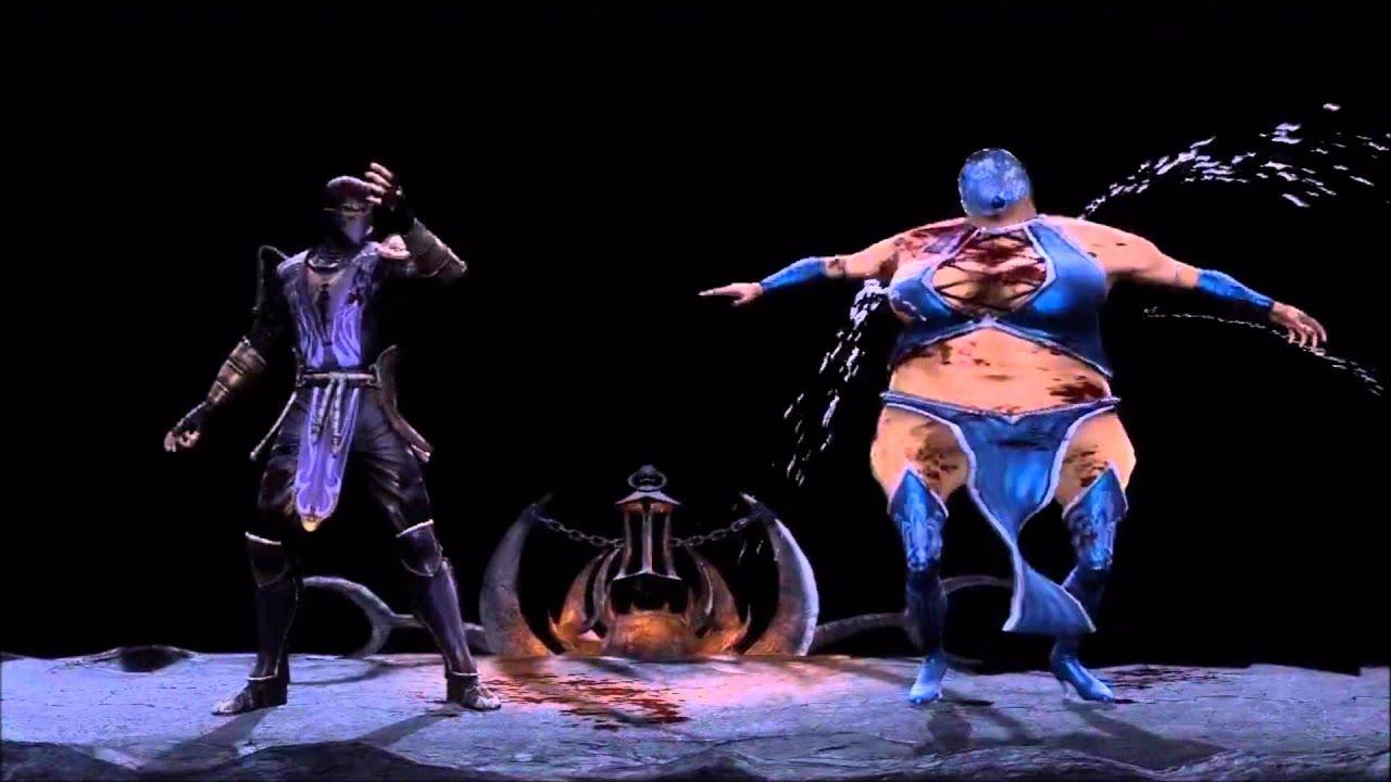 Mortal Kombat 9 (2011): Rain (DLC) First & Second Fatality ...
