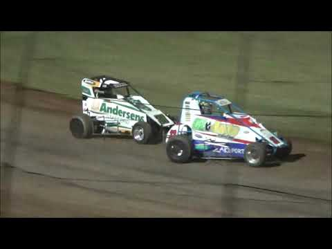 Compact Speedcars Feature Race at Castrol Edge Lismore Speedway. 01.12.18. - dirt track racing video image