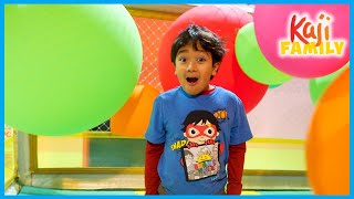 Ryan Play at indoor playground for kids 1hr fun activities!!!