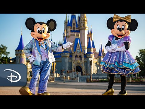 Walt Disney World 50th Anniversary Celebration Begins October 1st