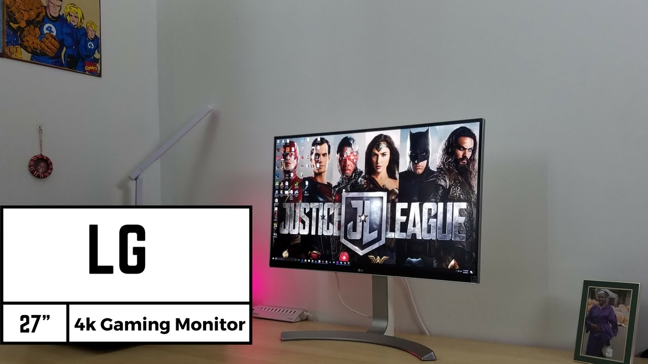 Lg 27 4k Ips Gaming Monitor Review 27ud88 W Youtube