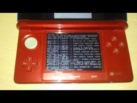 SNES9x ejucutándose en una OLD 3DS