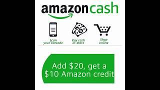 GRATIS $10 de crédito en Amazon cuando cargues $20 en Amazon Cash