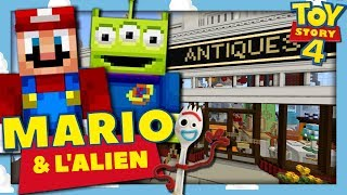 ON DÉCOUVRE LE MONDE DE TOY STORY 4 ! | MARIO ET L'ALIEN MINECRAFT TOY STORY EPISODE 5