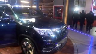 Mahindra G4 Rexton | First Look | Auto Expo 2018 LIVE | Motown india