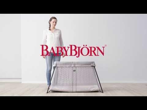 Babybjorn Lit Parapluie Light.Comment Plier Le Lit Light De Babybjorn Option 1