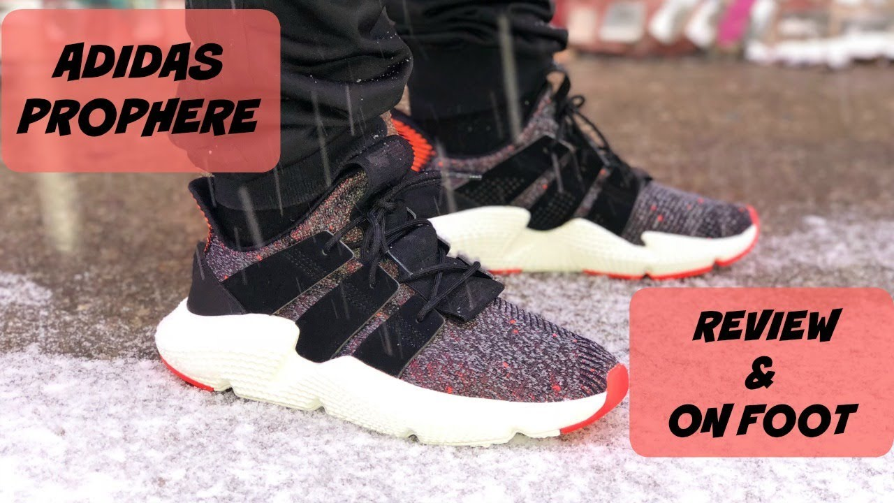 finest selection 313e7 1ea16 HONEST REVIEW OF THE ADIDAS PROPHERE!!! PLUS AN ON FOOT LOOK!!!