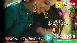 Maine Tujhe Chaha to Apna Bnaya 💖💖😘.        Love Status 😘😘❤️