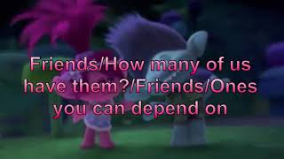 """""""Friend Melody"""" by Justin Timberlake aka Branch, from dreamworks """"Trolls Holiday"""""""