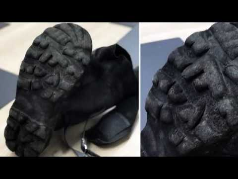 Rock Fall Vulcan Foundry Safety Boots | CMF | William Lee | 800 Degree Outsole Test