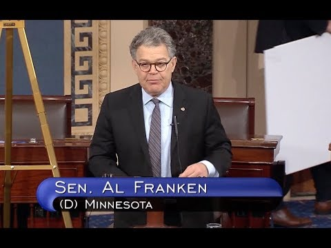 Al Franken: Jeff Sessions Failed To Tell Truth, Must Testify To Senate - Full Speech
