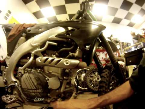 Repeat DRZ oil overflow crankcase vent tube mod explained by