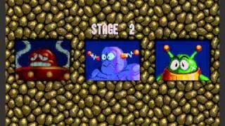 SEGA Megadrive - Dr. Robotnik's Mean Bean Machine - Niveau 1 & 2