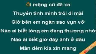 Noi Buon Chot Den Karaoke - Cam Ly - CaoCuongPro