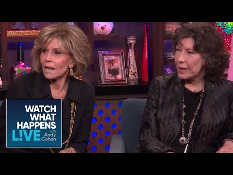 Jane Fonda And Lily Tomlin Praise Time's Up | WWHL