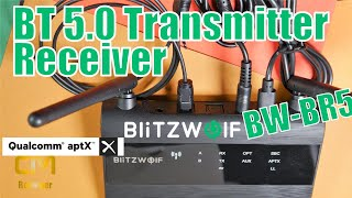 Blitzwolf BW-BR5 Test: Bluetooth Transmitter - Receiver Qualcomm®  ...