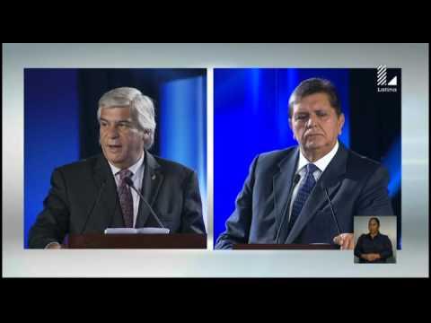 Fernando Olivera vs. Alan García: Mira este explosivo debate presidencial