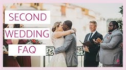 Second Wedding FAQ: Your Biggest Questions Answered!