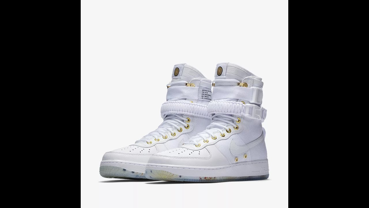 Nike SF Air Force 1 LNY QS Review Only one on YouTube YouTube