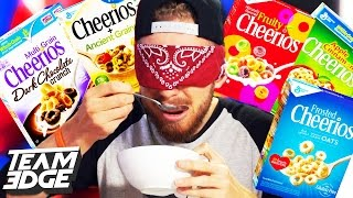 ULTIMATE CHEERIOS CHALLENGE!!
