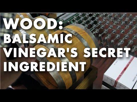 Wood: Balsamic Vinegar's Secret Ingredient