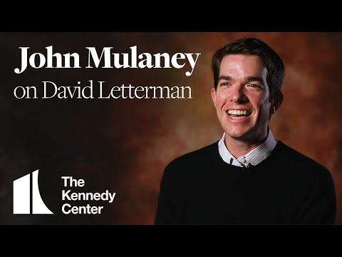 John Mulaney on David Letterman