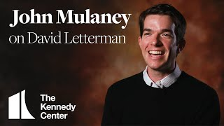 John Mulaney on David Letterman