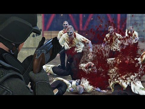GTA 5 ZOMBIE APOCALYPSE - LOS SANTOS IS FILLED WITH ZOMBIES! (GTA 5 Zombies Gameplay)