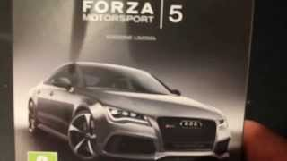 Unboxing Forza Motorsport 5 Limited Edition ITA