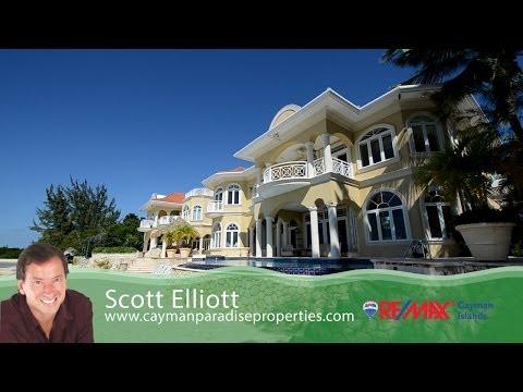 Casa Coyaba listed by Scott Elliott for REMAX Cayman Islands