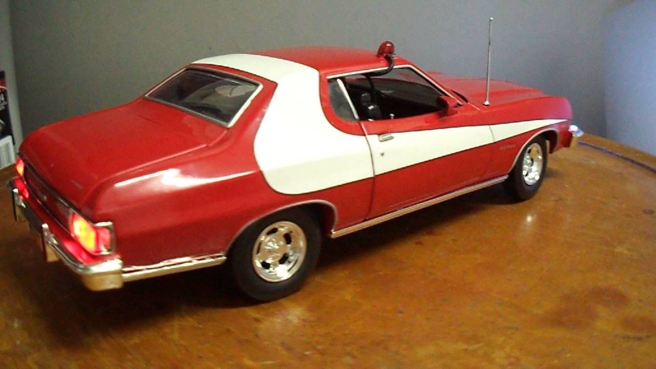 "1/18 ""Starsky and Hutch"" FORD Gran Torino Diecast Car ..."