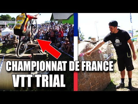 MON CHAMPIONNAT DE FRANCE DE VTT TRIAL ! (Reportage)