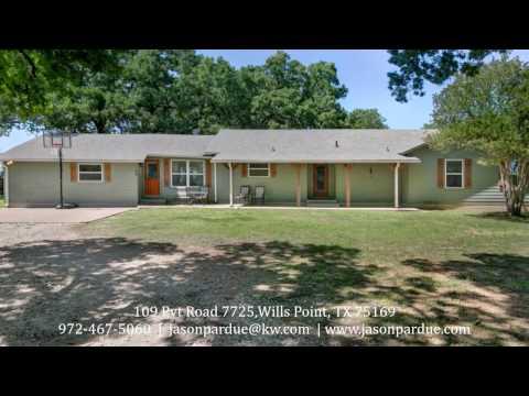 109 Pvt Road 7725, Wills Point, TX 75169