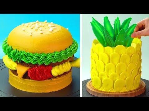 Most Satisfying Cake Decorating Ideas 😍 How To Make Cake Recipes | So Yummy Cake Tutorials