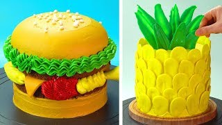 Most Satisfying Cake Decorating Ideas  How to Make Cake Recipes  So Yummy Cake Tutorials