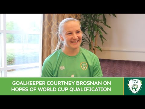 INTERVIEW   GK Courtney Brosnan on hopes of World Cup qualification