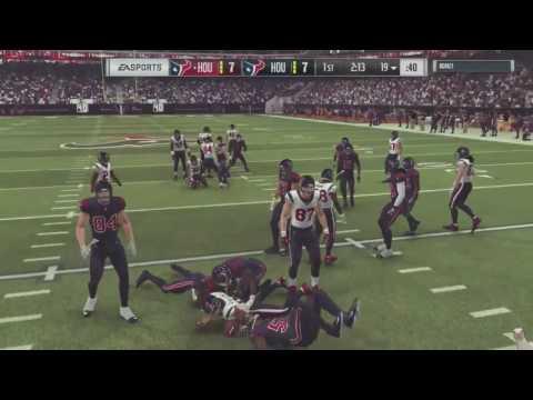 Madden 17 :: CRAZY/BEAST INTERCEPTION! Texans Vs. Texans ::  Madden NFL 17 Online Gameplay